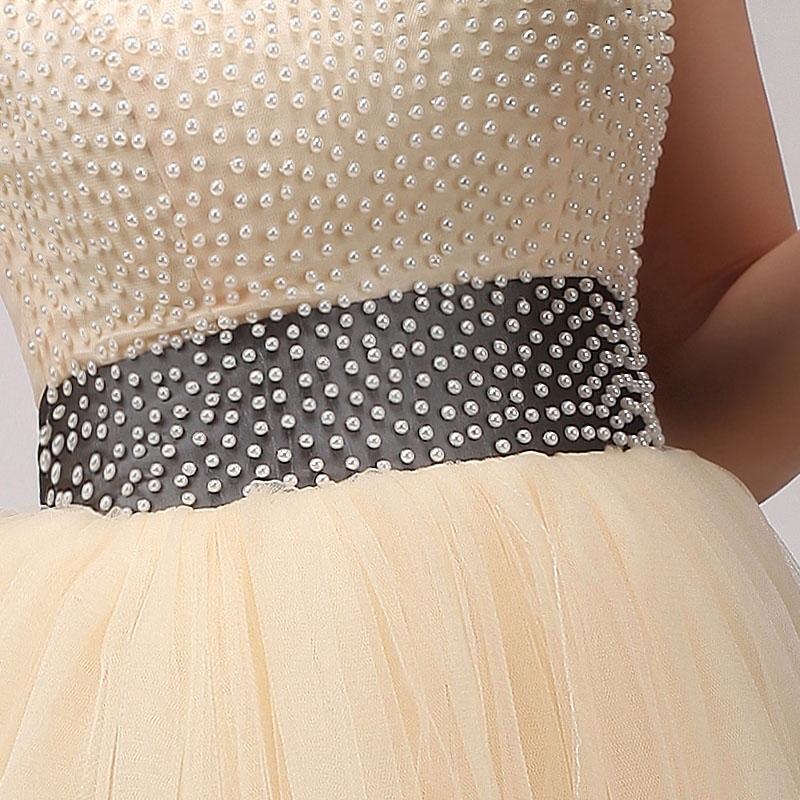Krátke svadobné/popolnoč.šaty-8 veľkostí-7 stužiek - Obrázok č. 3