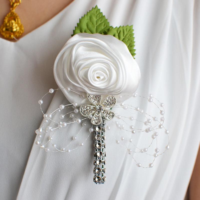Brošňa pre dámy alebo pierko pre ženícha - 8farieb - Obrázok č. 2