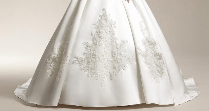 Dlhé svadobné šaty - 12 veľkostí, 2 farby, 2 typy  - Obrázok č. 3