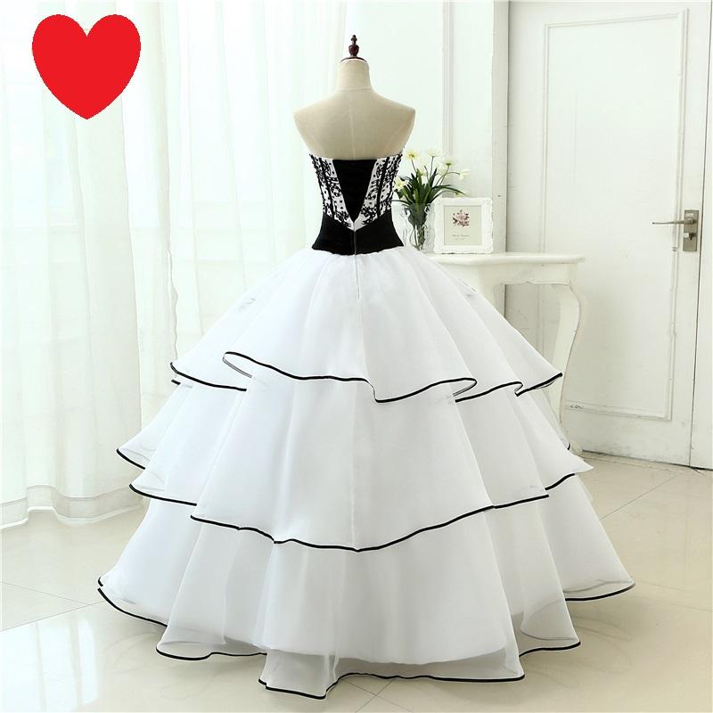 Dlhé extravagantné svadobné šaty - 12 veľkostí - Obrázok č. 2