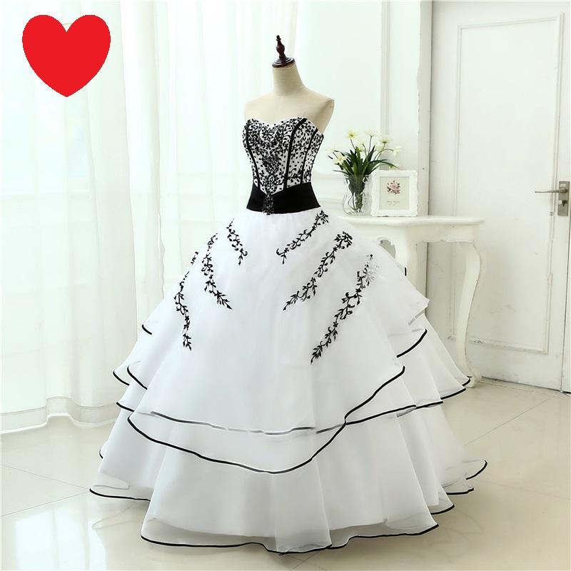 Dlhé extravagantné svadobné šaty - 12 veľkostí - Obrázok č. 3