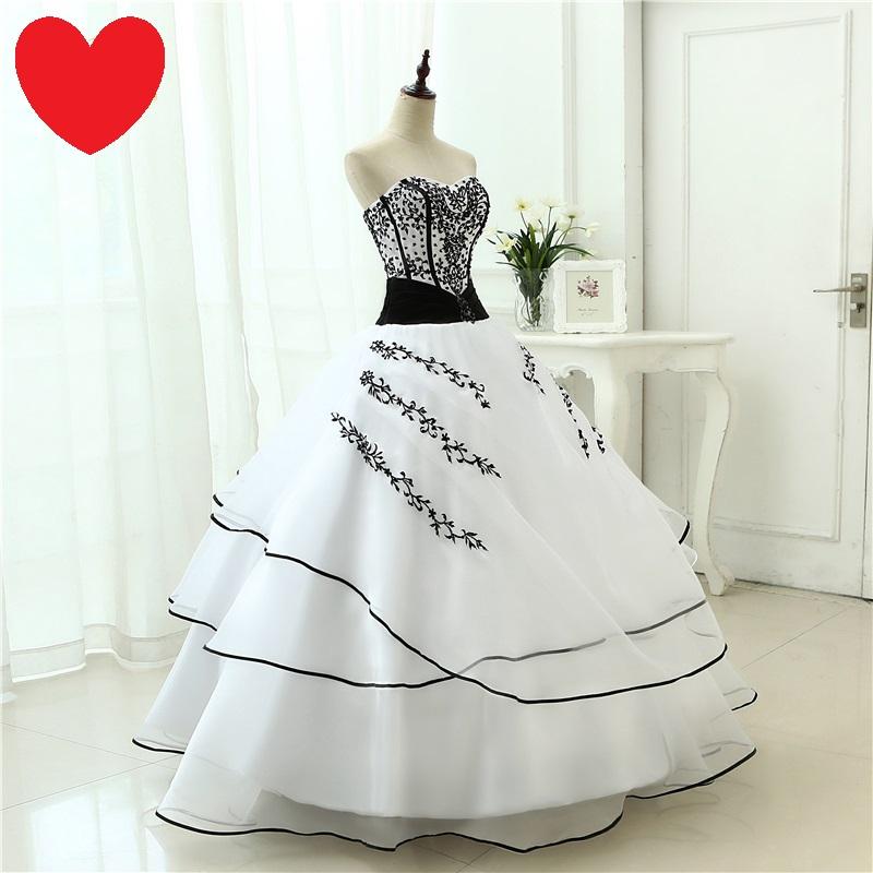 Dlhé extravagantné svadobné šaty - 12 veľkostí - Obrázok č. 4