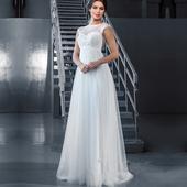 Dlhé svadobné šaty - 8 veľkostí, 2 farby, 48
