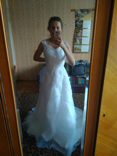 Dlhé svadobné šaty - 12 veľkostí, 3 farby - Obrázok č. 4
