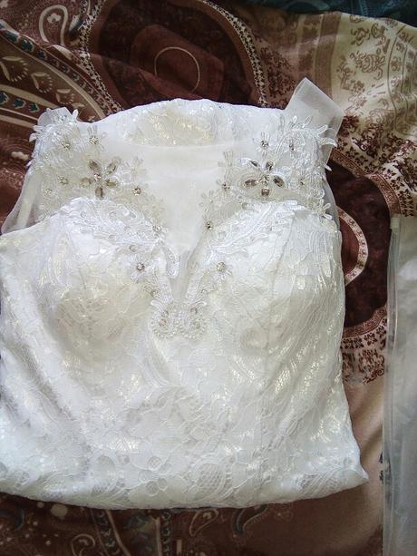 Dlhé svadobné šaty - 14 veľkostí, 3 farby - Obrázok č. 3