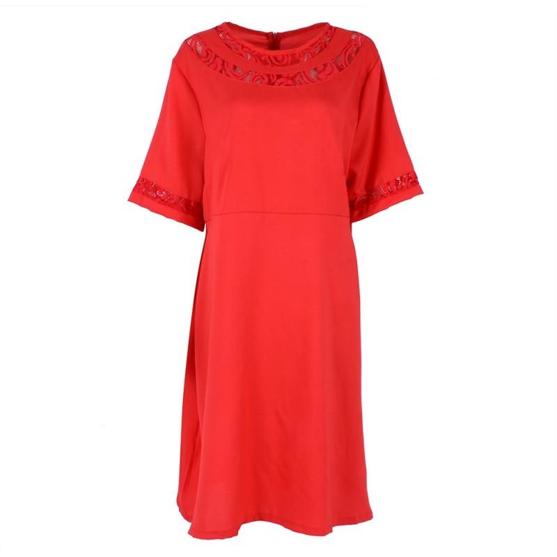 Spoločenské šaty pre moletky - XL - Obrázok č. 2