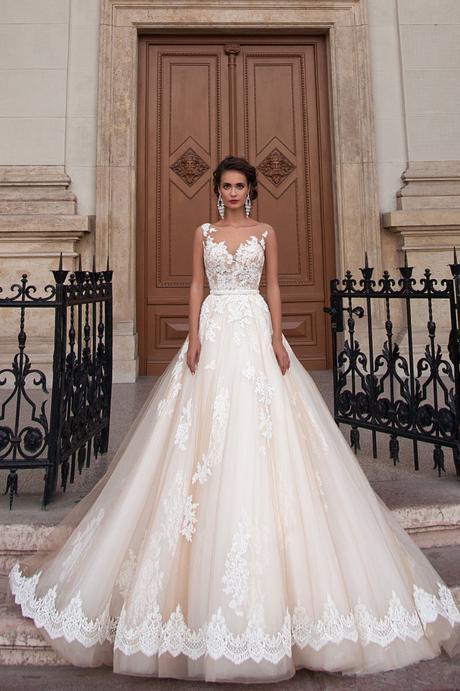 Dlhé svadobné šaty - 12 veľkostí - Obrázok č. 1