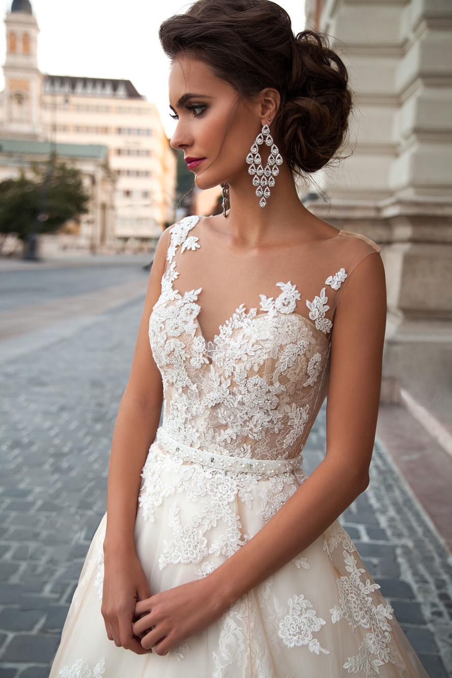 Dlhé svadobné šaty - 12 veľkostí - Obrázok č. 2