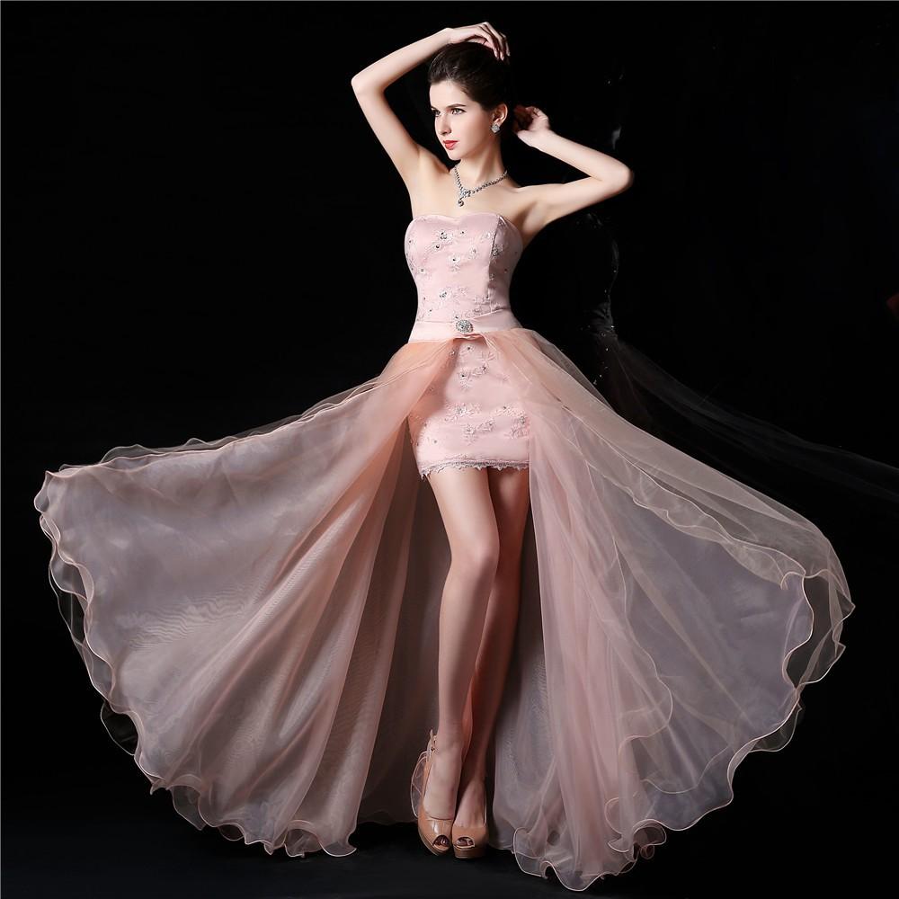 Dlhé/krátke spoloč. šaty-17 veľkostí,10 farieb-2v1 - Obrázok č. 4