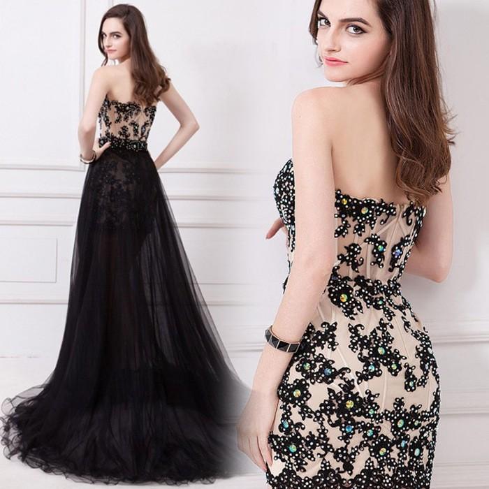 Dlhé/krátke spoloč. šaty-15 veľkostí,3 farby-2v1 - Obrázok č. 1