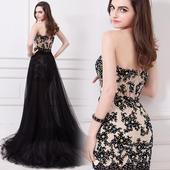 Dlhé/krátke spoloč. šaty-15 veľkostí,3 farby-2v1, 36