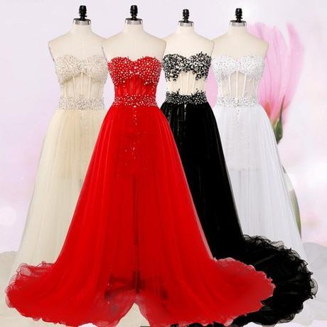 Dlhé/krátke spoloč. šaty-15 veľkostí,3 farby-2v1 - Obrázok č. 2