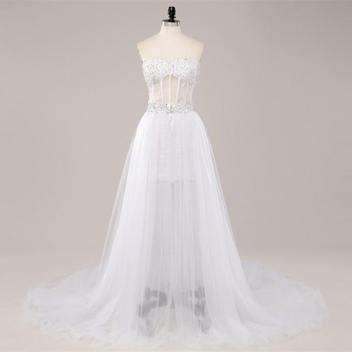 Dlhé/krátke spoloč. šaty-15 veľkostí,3 farby-2v1 - Obrázok č. 3