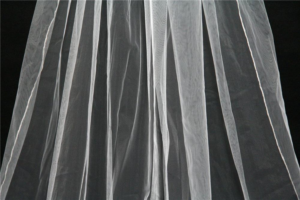 2, 3 a 5 metrový dlhý závoj - 2 farby - Obrázok č. 2