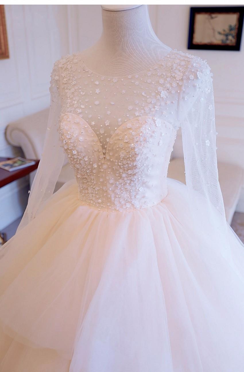 Dlhé svadobné šaty - 8 veľkostí, 12 farieb - Obrázok č. 2
