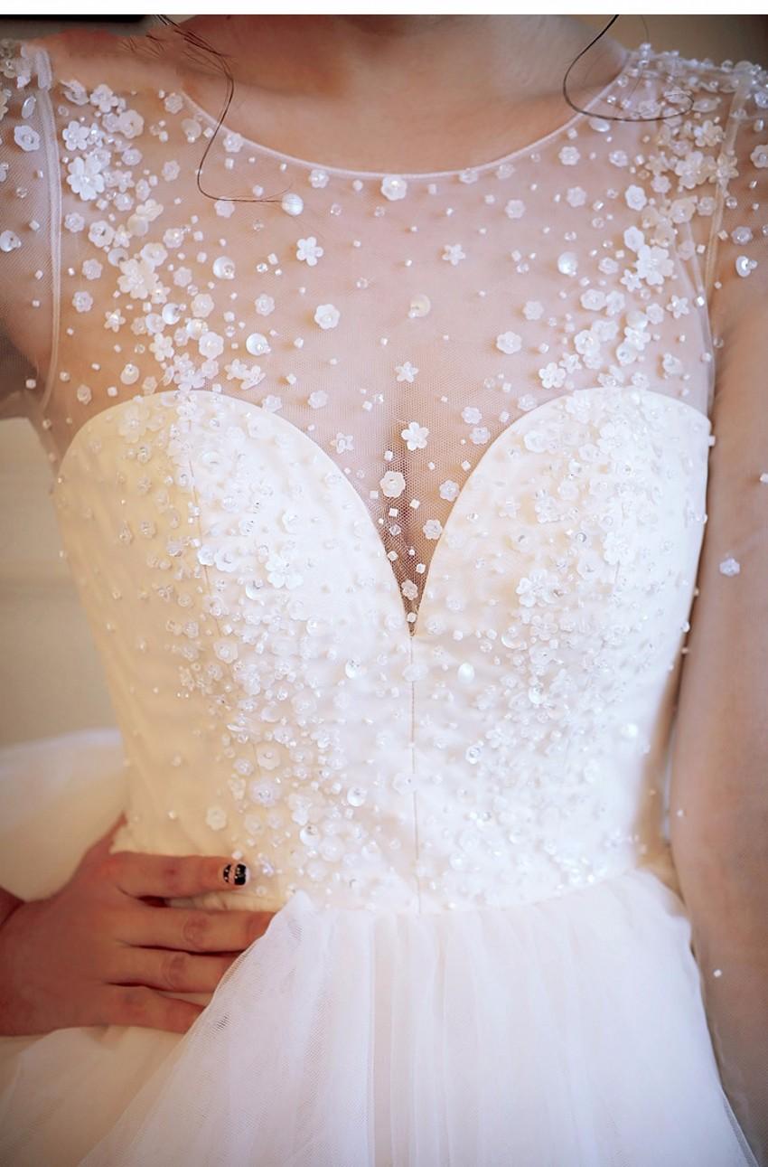 Dlhé svadobné šaty - 8 veľkostí, 12 farieb - Obrázok č. 3