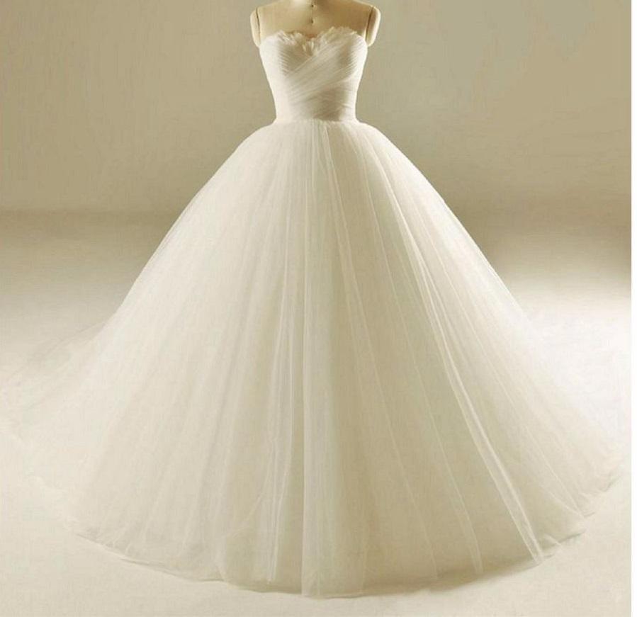 Dlhé svadobné šaty s perím- 12 veľkostí, 17 farieb - Obrázok č. 1
