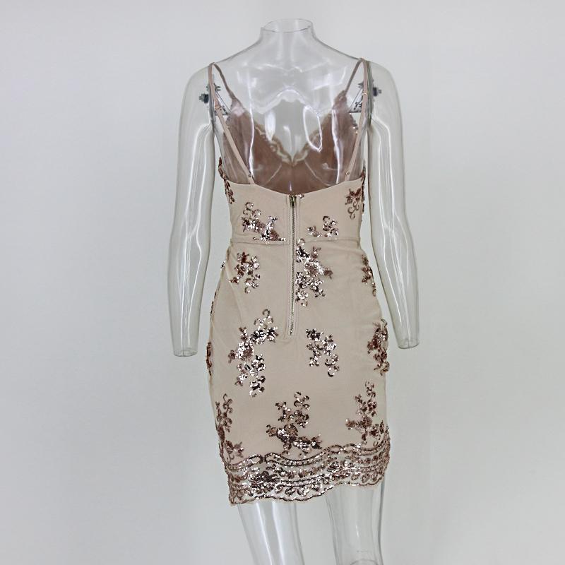 Krátke spoločenské šaty - 4 veľkosti,5 farieb - Obrázok č. 3