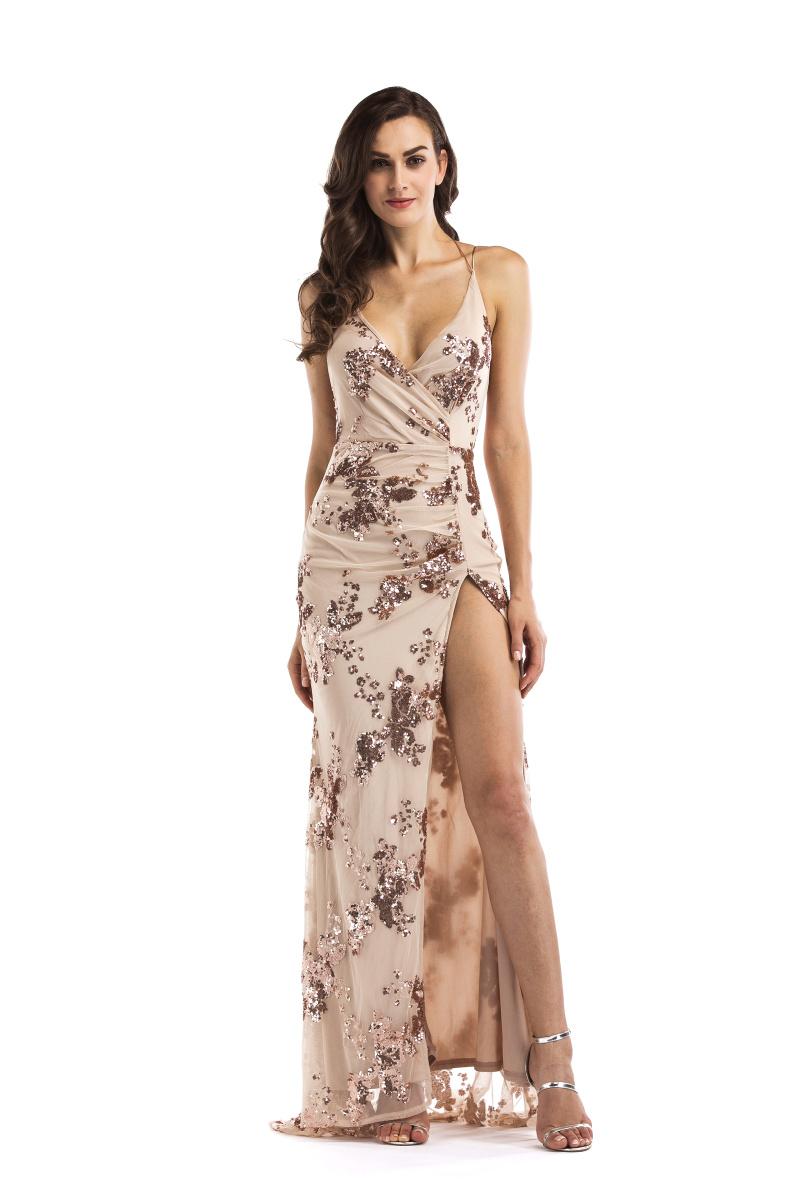 Dlhé spoločenské šaty - 4 veľkosti - Obrázok č. 1