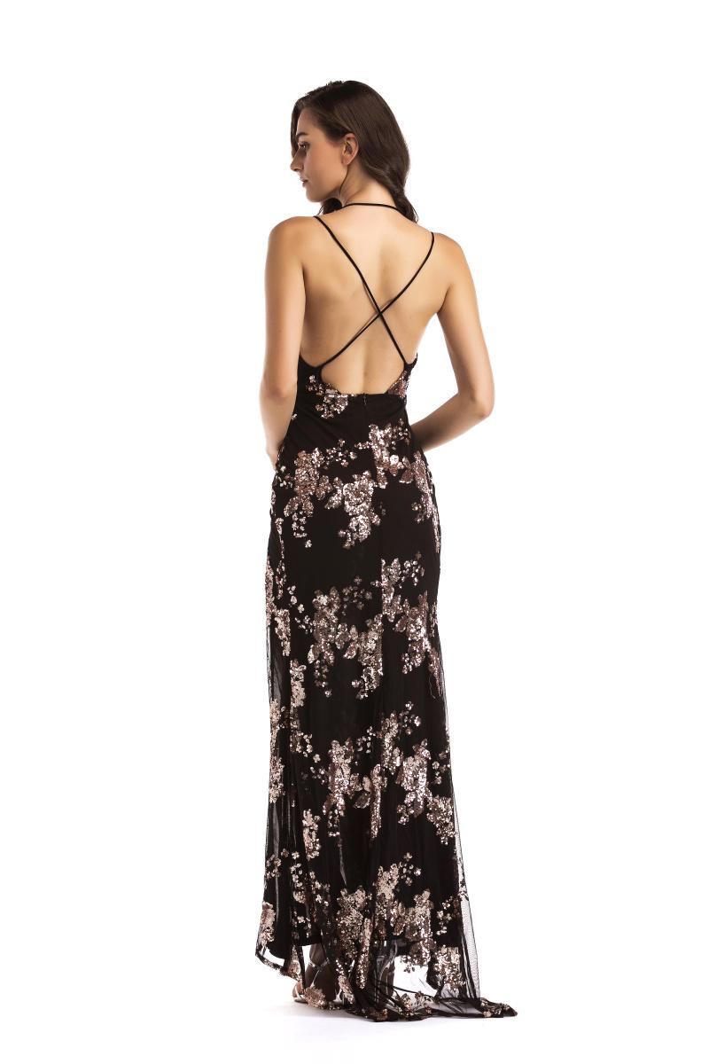 Dlhé spoločenské šaty - 4 veľkosti - Obrázok č. 2