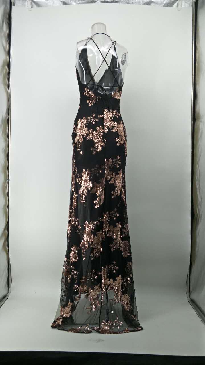Dlhé spoločenské šaty - 4 veľkosti - Obrázok č. 4