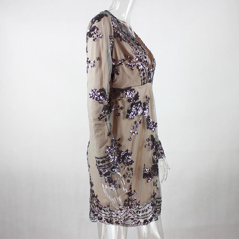 Krátke spoločenské šaty - 4 veľkosti,5 farieb - Obrázok č. 2