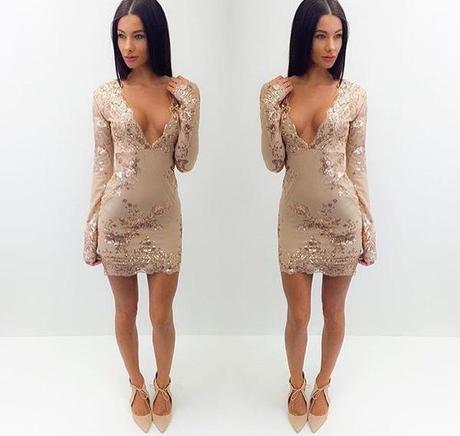 Krátke spoločenské šaty - 4 veľkosti,5 farieb - Obrázok č. 1