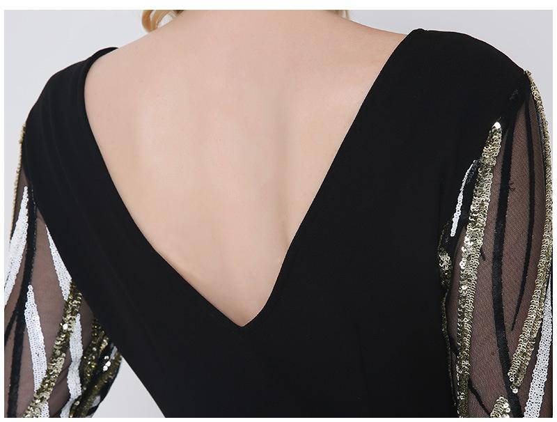 Krátke spoločenské šaty - 5 veľkostí - Obrázok č. 3