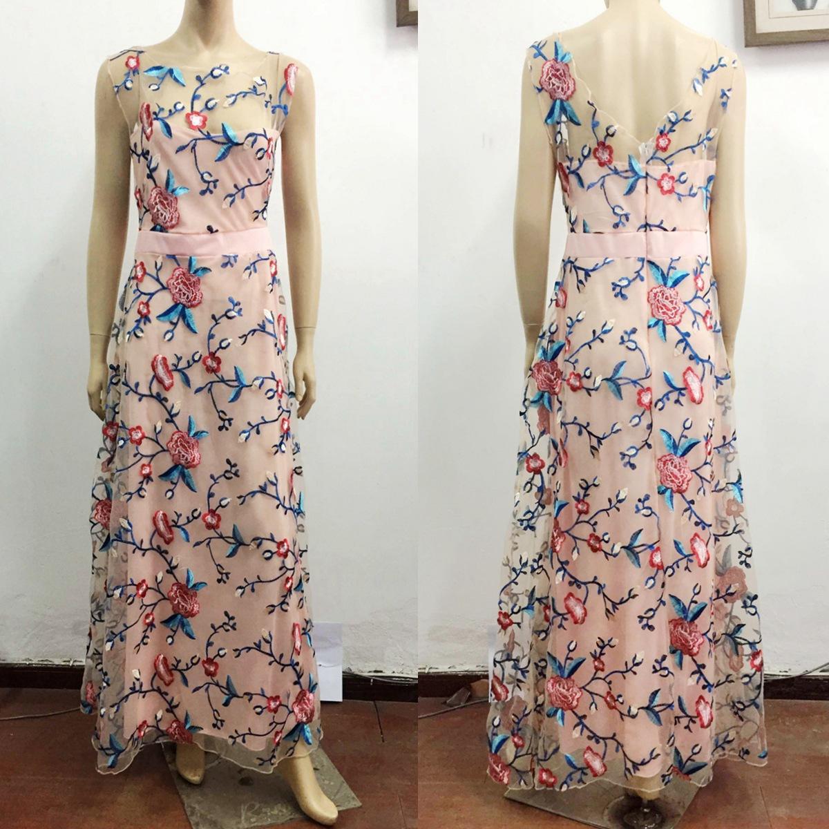 Dlhé spoločenské šaty - 5 veľkostí, 4 farby - Obrázok č. 3