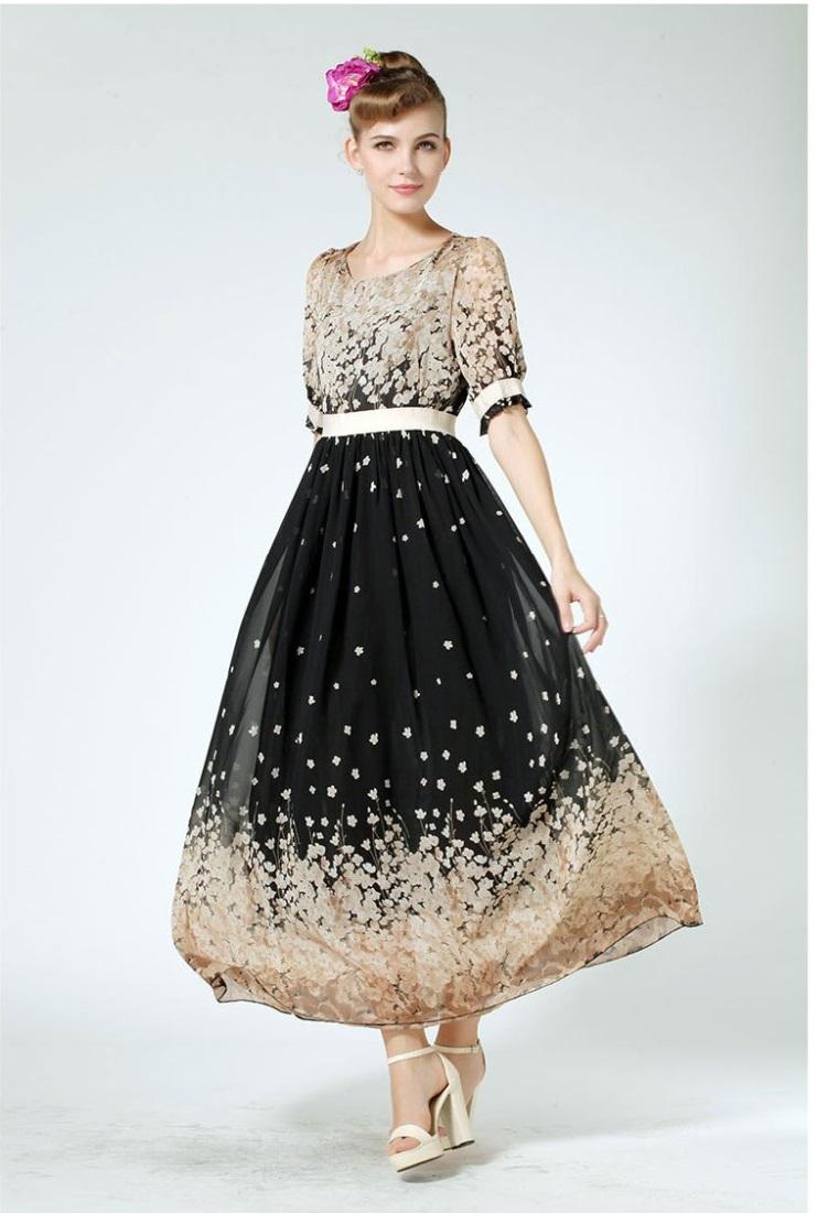Dlhé spoločenské šaty aj pre moletky - 9 veľkostí - Obrázok č. 1
