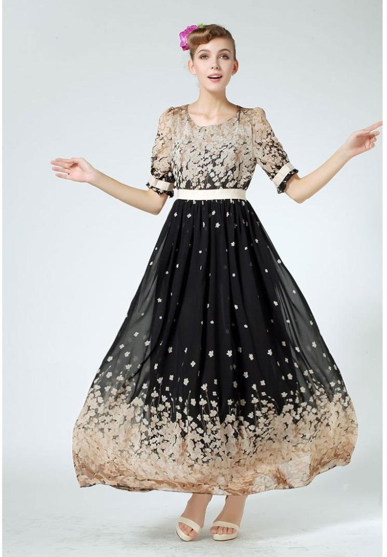 Dlhé spoločenské šaty aj pre moletky - 9 veľkostí - Obrázok č. 2