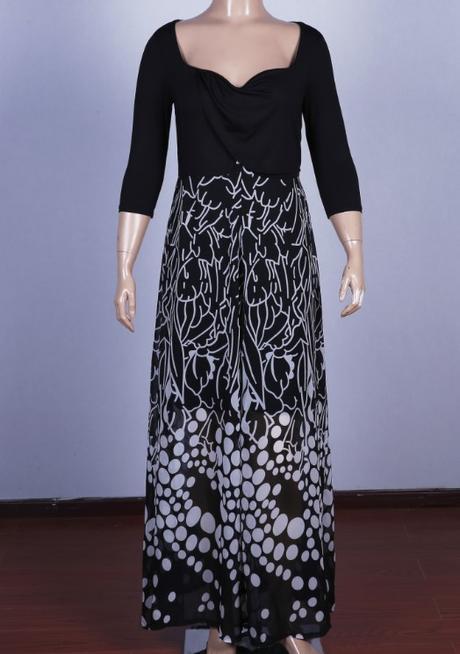 Dlhé spoločenské šaty pre moletky -  7 veľkostí - Obrázok č. 2