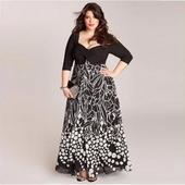 Dlhé spoločenské šaty pre moletky -  7 veľkostí, 54