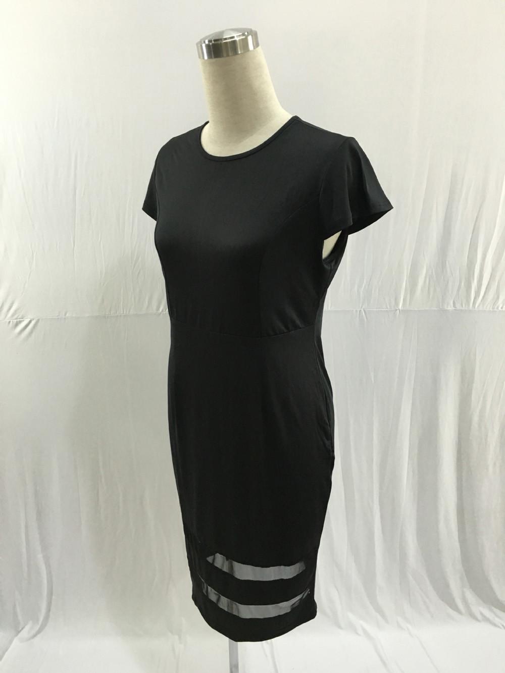 Krátke spoločenské šaty pre moletky - 5 veľkostí - Obrázok č. 3
