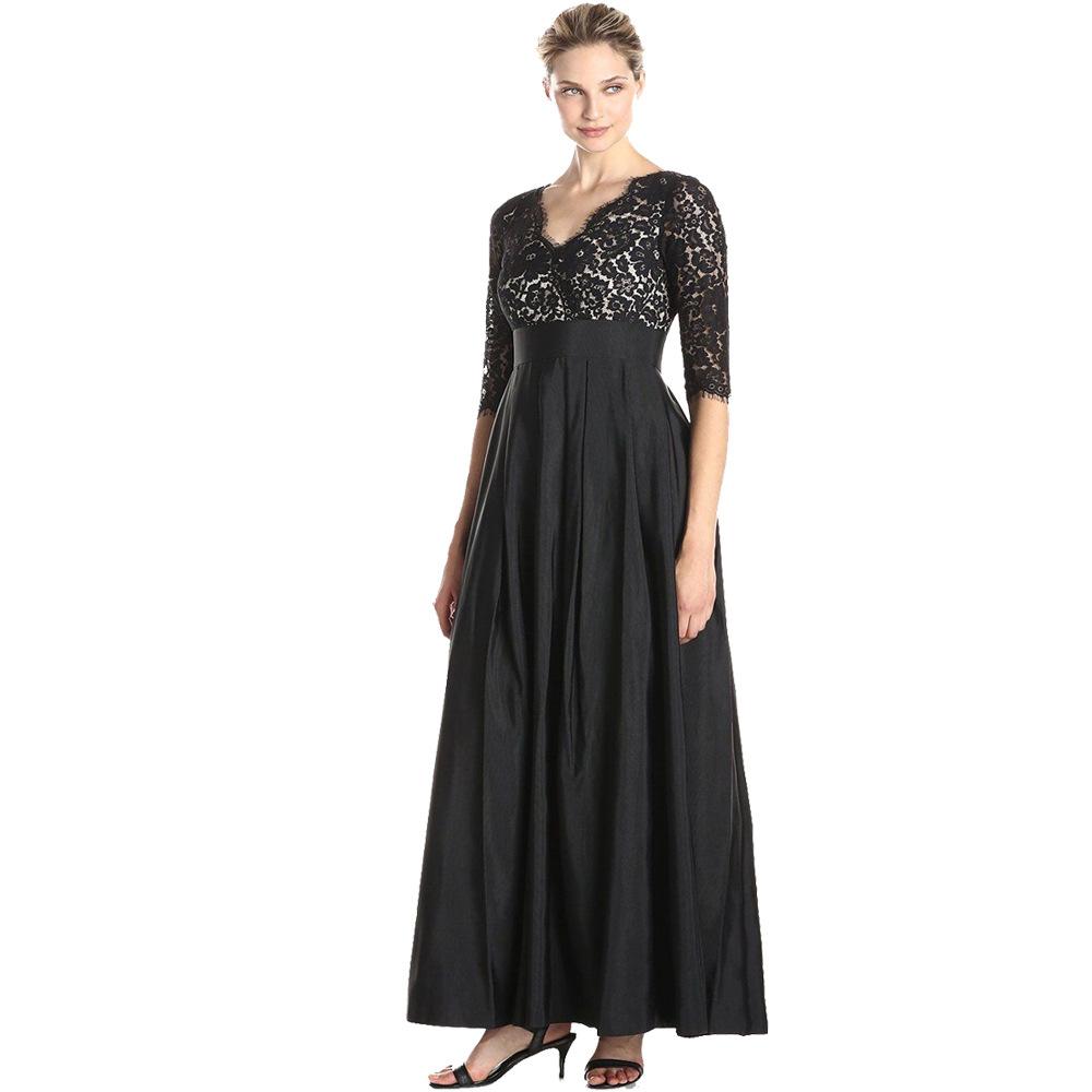 Dlhé spoločenské šaty pre moletky -  7 veľkostí - Obrázok č. 1