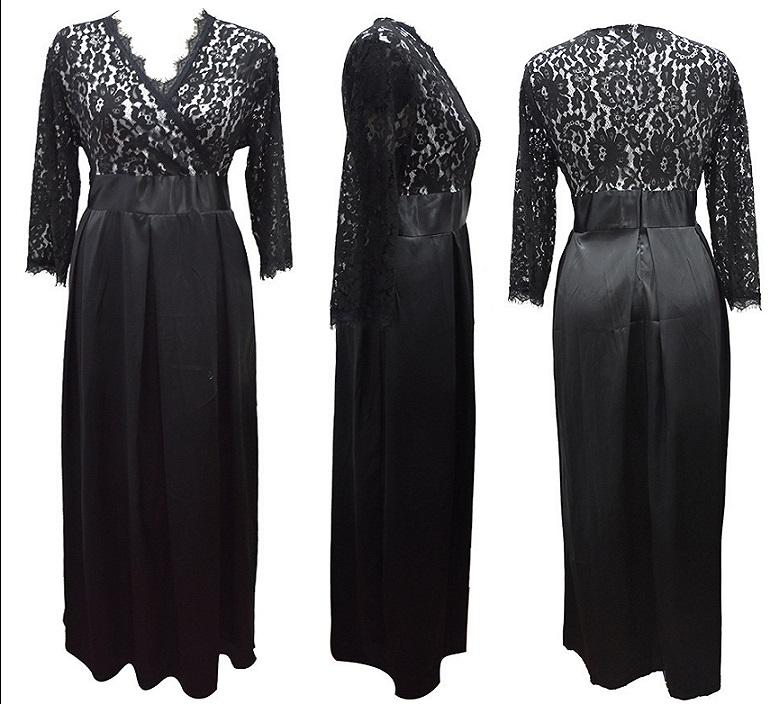 Dlhé spoločenské šaty pre moletky -  7 veľkostí - Obrázok č. 3