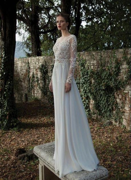Dlhé svadobné šaty - 8 veľkostí - 2 farby - Obrázok č. 2