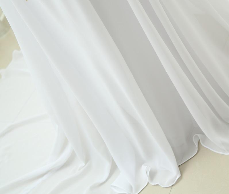 Dlhé svadobné šaty - 12 veľkostí, 8 farieb - Obrázok č. 4