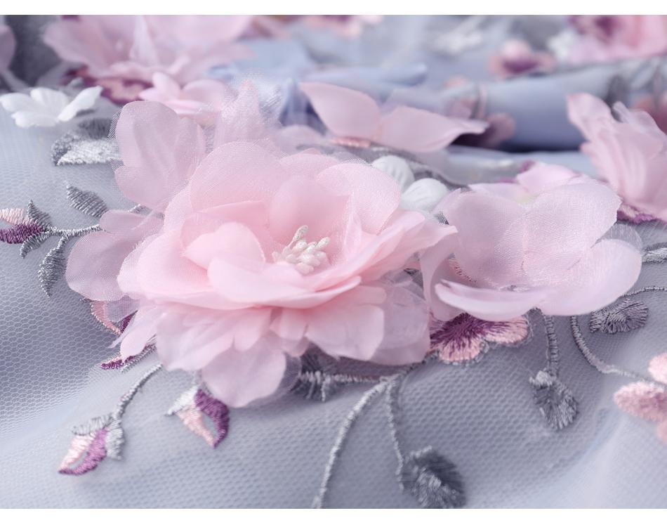 Extravagantné dlhé svadobné šaty - 7 veľkostí - Obrázok č. 4