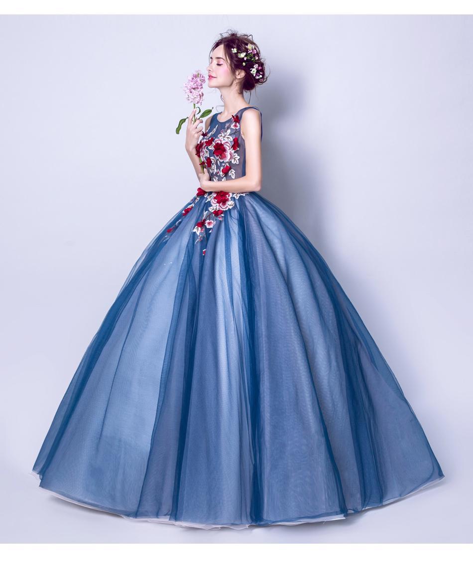 Dlhé spoločenské šaty - 7 veľkosti - Obrázok č. 3