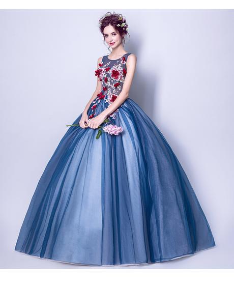 Dlhé spoločenské šaty - 7 veľkosti - Obrázok č. 1