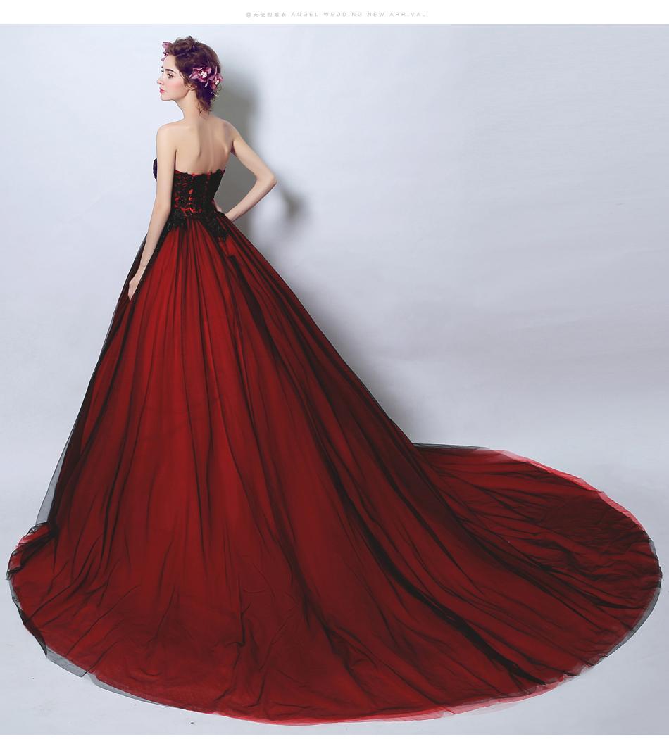 Dlhé svadobné šaty - 13 veľkostí - Obrázok č. 3