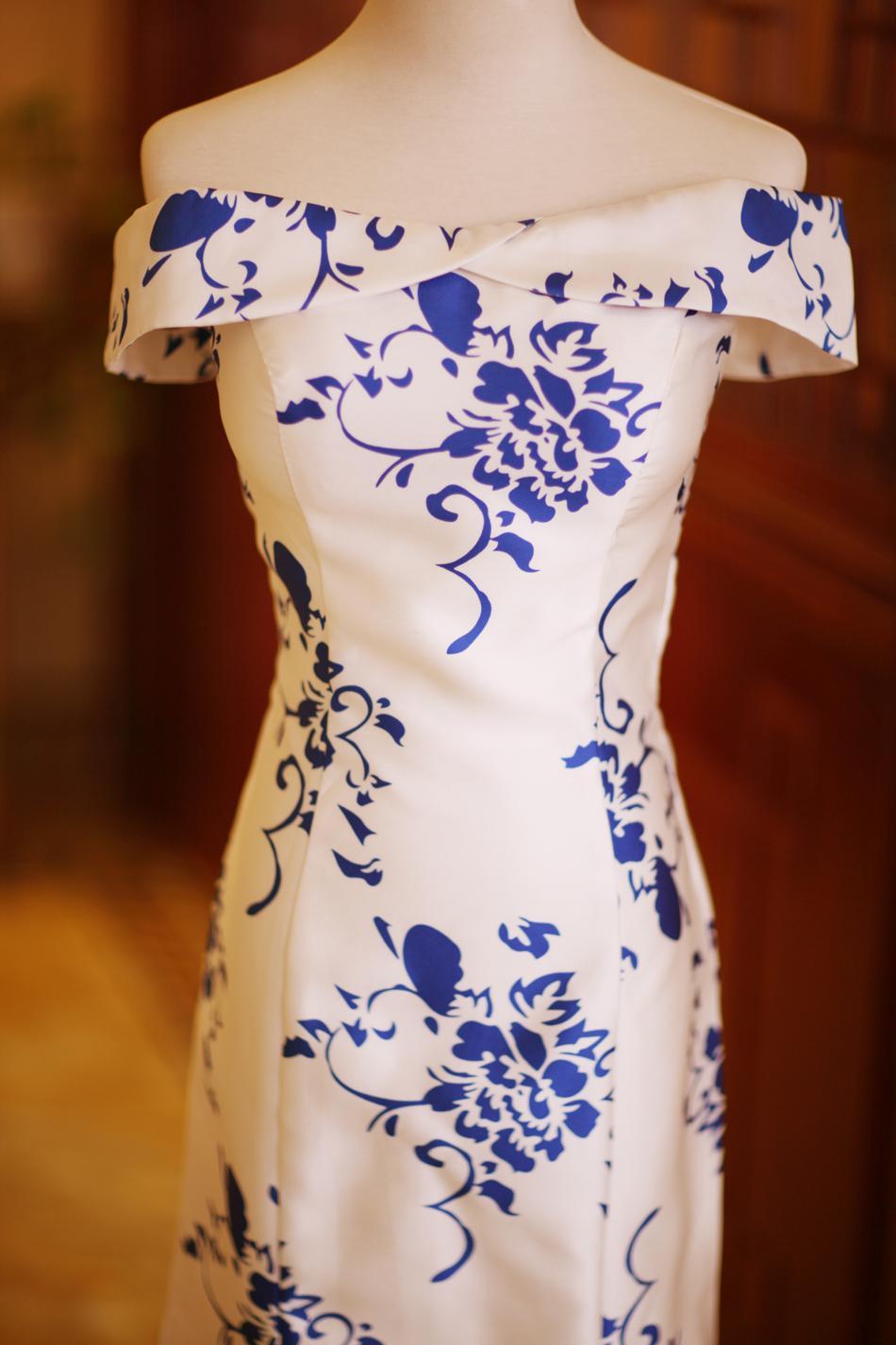 Dlhé popolnočné šaty - 7 veľkostí - Obrázok č. 4