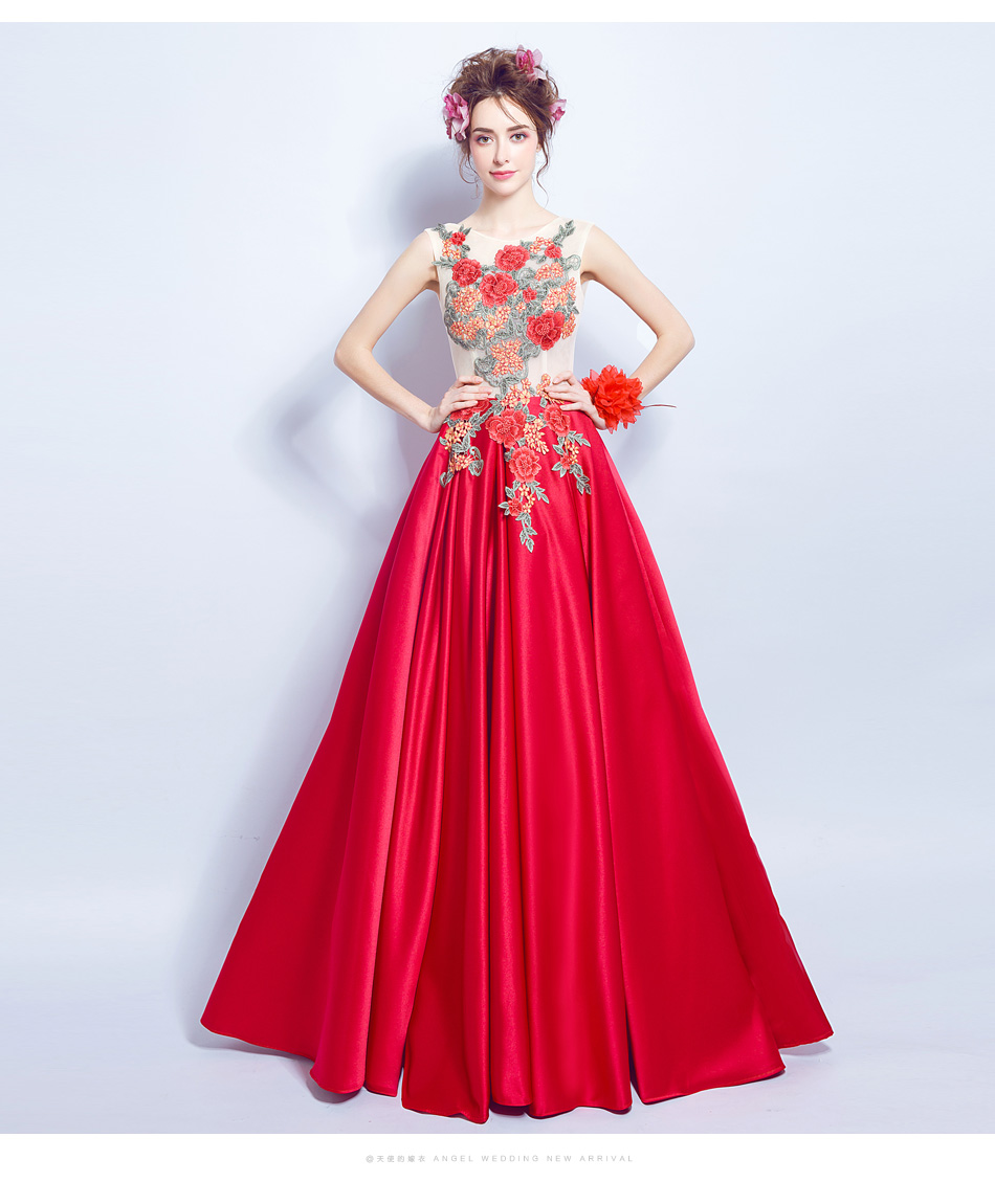 Dlhé popolnočné šaty - 10 veľkostí - Obrázok č. 2