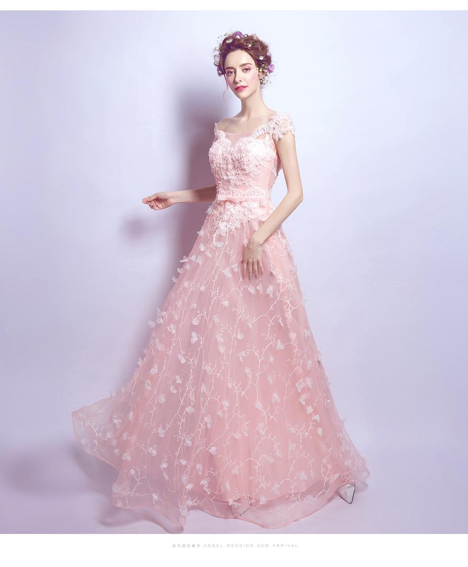 Dlhé popolnočné šaty - 7 veľkostí - Obrázok č. 1