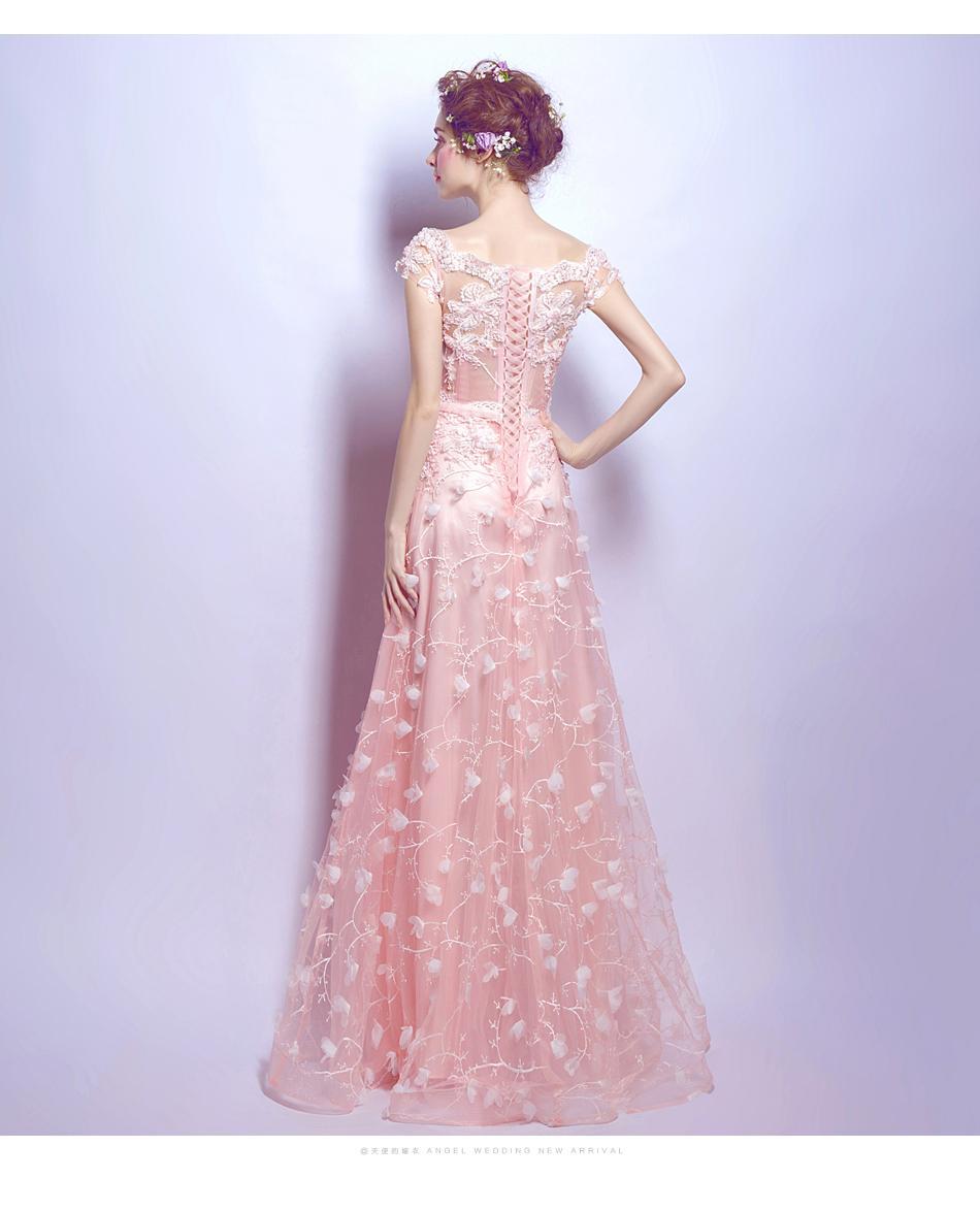 Dlhé popolnočné šaty - 7 veľkostí - Obrázok č. 3