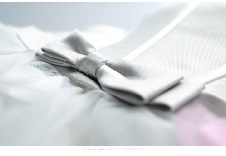 Asymetrické svadobné šaty - 8 veľkostí, 3 farby - Obrázok č. 4