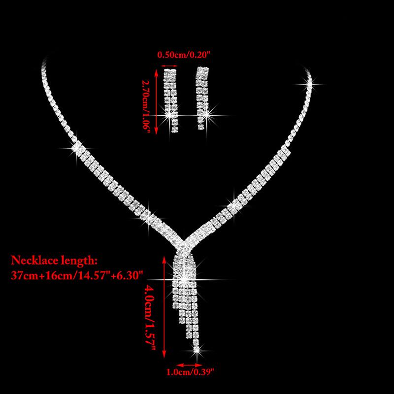 Štrasový set - náučničky a náhrdelník - Obrázok č. 3