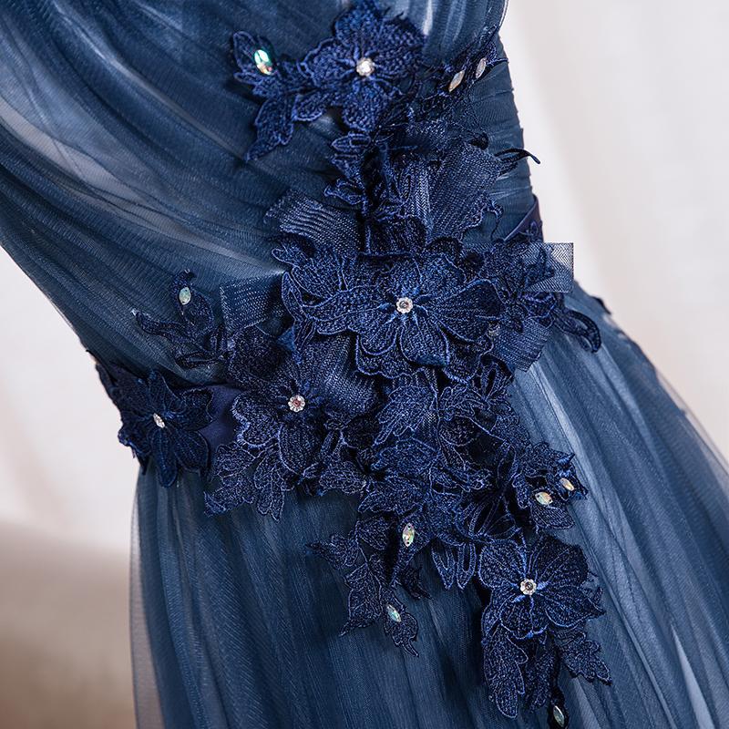 Dlhé spoločenské šaty - 8 veľkostí, 3 farby - Obrázok č. 3