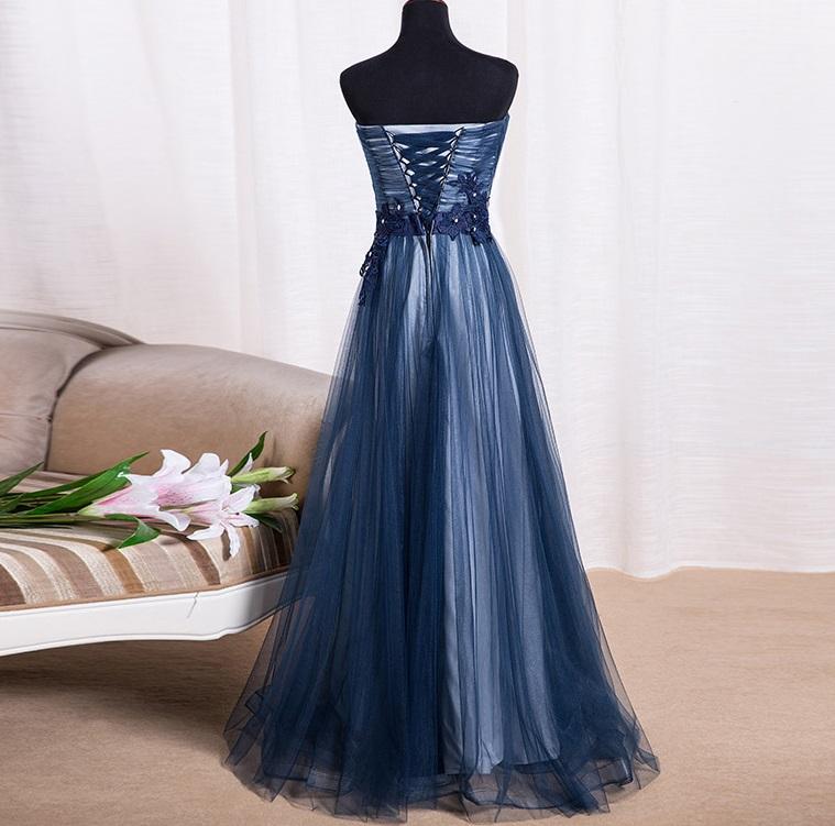 Dlhé spoločenské šaty - 8 veľkostí, 3 farby - Obrázok č. 4